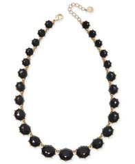 "Image of Charter Club Gold-Tone Graduated Stone Statement Necklace, 17"" + 2"" extender, Created for Macy's"
