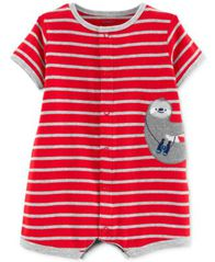 Image of Carter's Baby Boys Cotton Romper