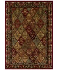 Image of CLOSEOUT! Dalyn St. Charles WB38 Red 3' x 5' Area Rug