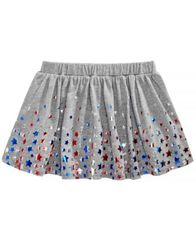 Image of Epic Threads Todler Girls Star-Print Skirt, Created for Macy's