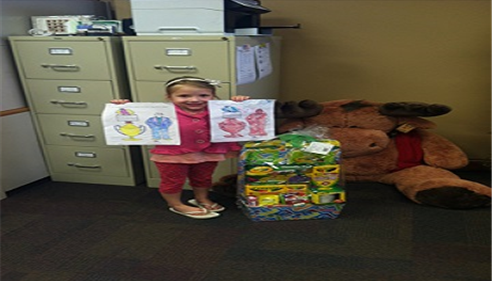 Home Show Easter Basket Coloring Contest winner