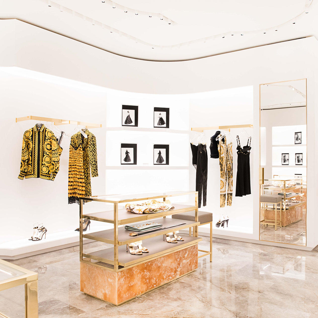 Versace London Sloane Boutique