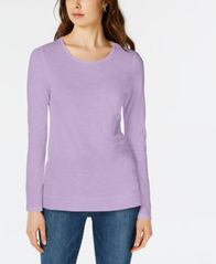 Image of Maison Jules High-Low T-Shirt, Created for Macy's