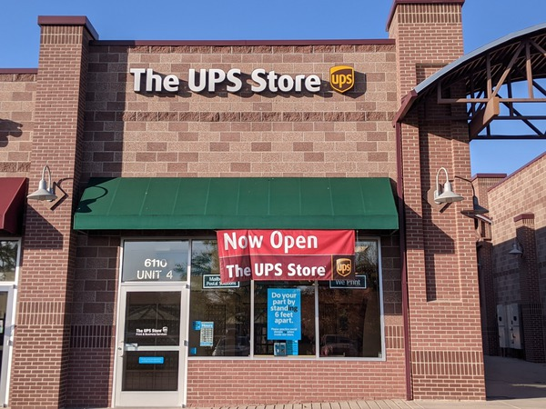 Facade of The UPS Store Denver