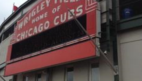 Private tour at Wrigley field while in Chicago for Championship.