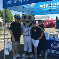 Whitney-Insurance-Group-Allstate-Kennewick-WA-safe-kids-saturday-tri-city-dust-devils-mascot-auto-home-life-auto-agency-agent-customer-service-commercial-business-homeowner