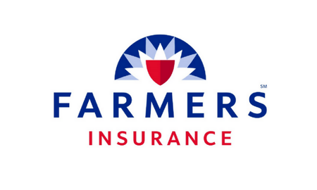 The Farmers Insurance logo.