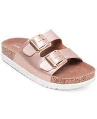 Image of Madden Girl Goldiie Footbed Sandals