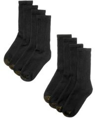 Image of Gold Toe Men's 8-Pack Crew Socks