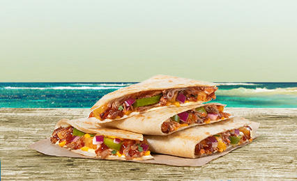 BBQ Pork Quesadilla