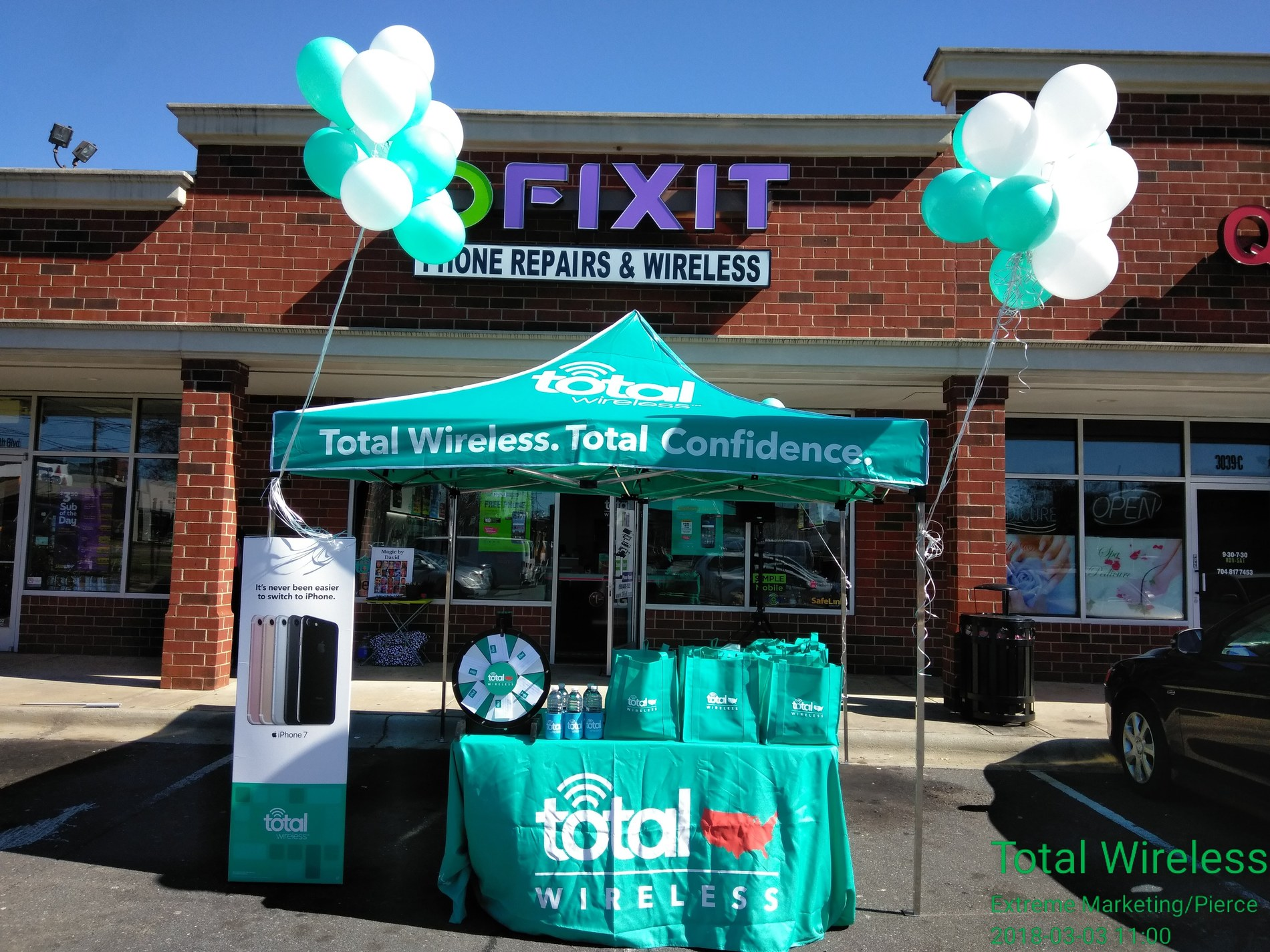 Total Wireless Store front image in Charlotte,  NC
