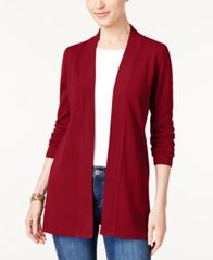 Image of Karen Scott Open-Front Cardigan, Created for Macy's