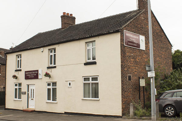 Griffiths & Booth Funeral Directors in Sandbach, Cheshire.