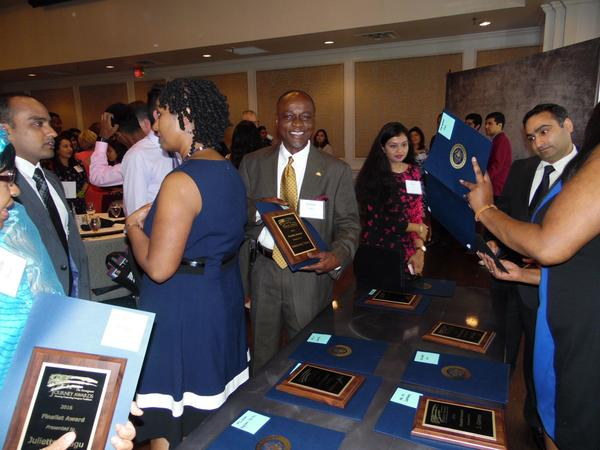 Immigrant Journey Awards Banquet honoring immigrant business people.