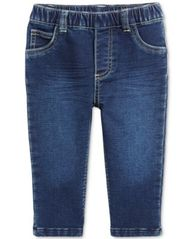 Image of First Impressions Pull-On Jeans, Baby Boys (0-24 months), Created for Macy's