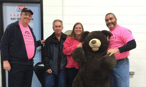 Farmers® and Team USA Pink Out for breast cancer Big Bear Winners
