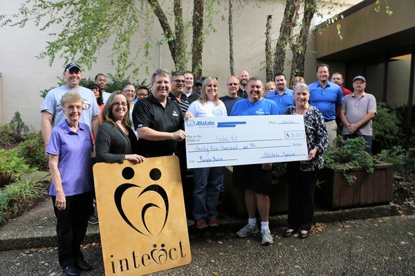 Brian Davis - Allstate Foundation Grant for InterAct