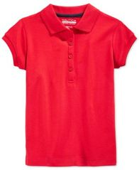 Image of Nautica School Uniform Polo, Big Girls