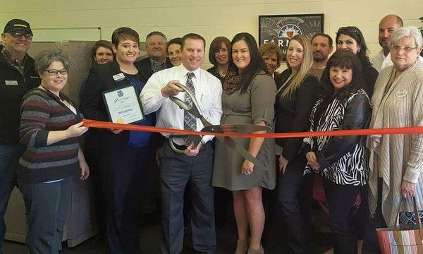 Andy Fleming Agency Ribbon Cutting - February 1, 2017