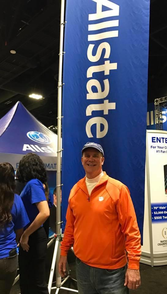 Richard Liles - Allstate at Tampa for the College Football National Championship game.