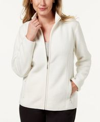 Image of Karen Scott Petite Zeroproof Jacket, Created for Macy's