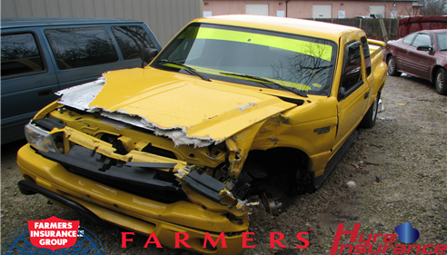 Had an accident? I did. Farmers® took care of me, and they will you too.