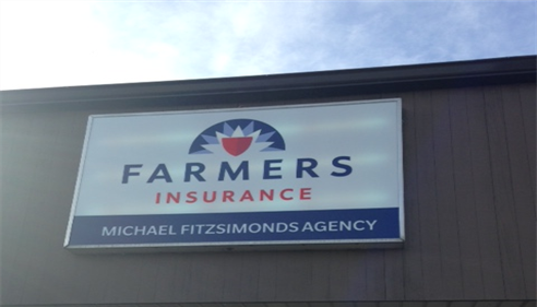 Check out our new sign!