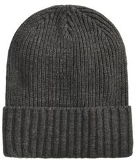Image of Club Room Men's Solid Cuff Hat, Created for Macy's