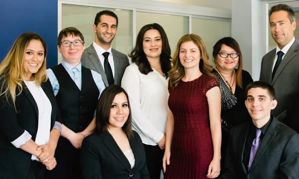 Photo of the staff of Carla Ramirez's insurance agency