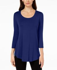 Image of JM Collection Scoop-Neck Top, Created for Macy's