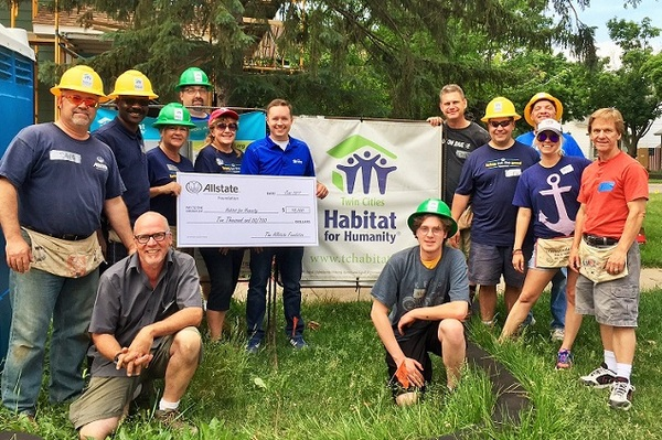 Ed Scislow - Allstate Foundation Grant for Twin Cities Habitat for Humanity
