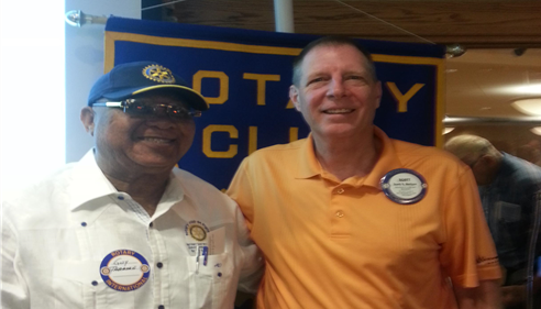 Dr. Guy Theodore from Haiti Rotary Club
