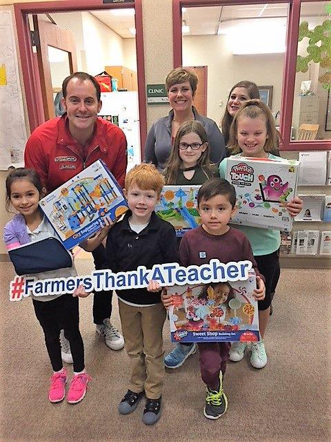 Supporting local teachers and schools