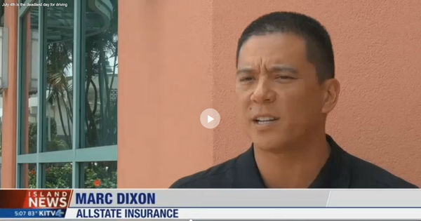 Marc-Dixon-Allstate-Insurance-Ewa-Beach-HI-Island-News-KITV-Distracted-Driving-auto-home-life-auto-agency-agent-customer-service