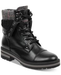 Image of Tommy Hilfiger Dyan Lace-Up Winter Boots
