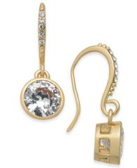 Image of Alfani Crystal Drop Earrings, Created for Macy's