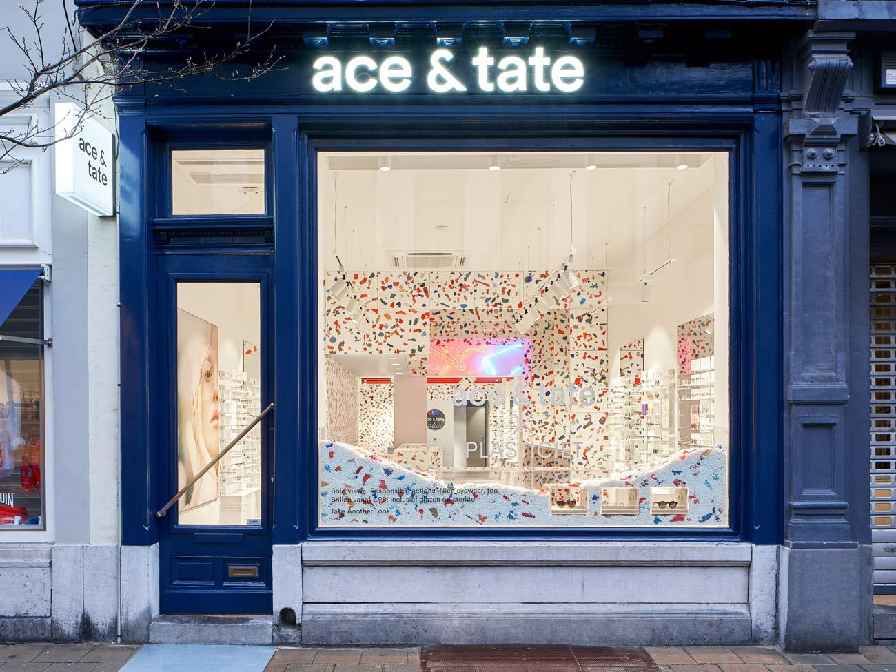 Ace & Tate Schuttershofstraat store interior