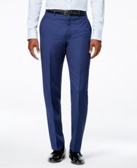Image of Calvin Klein X-Fit Solid Slim Fit Pants