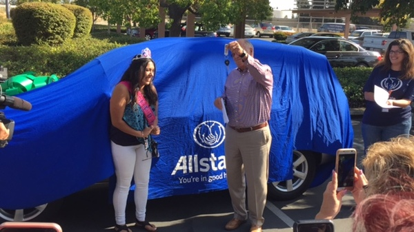 Tim Delaney - Allstate Recycled Ride Giveaway