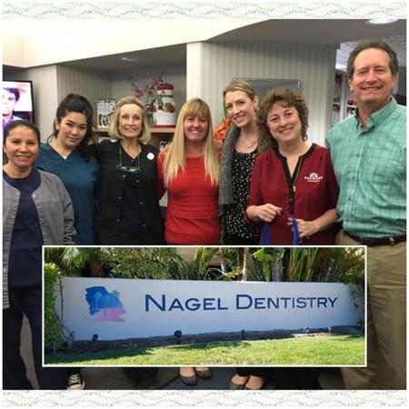 Happy to provide goodies to Nagel Dentistry, thanking them for all they do for Fountain Valley.