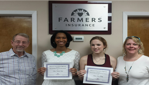 2014 Jim Mercer Scholarship Winners