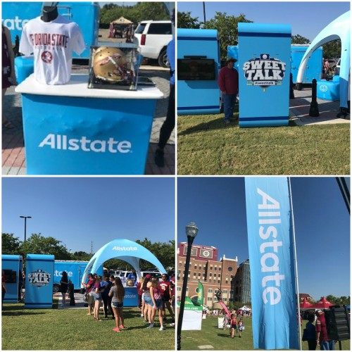 Jeffrey Ard - The Allstate Tailgate Tour Rolls through Tallahassee