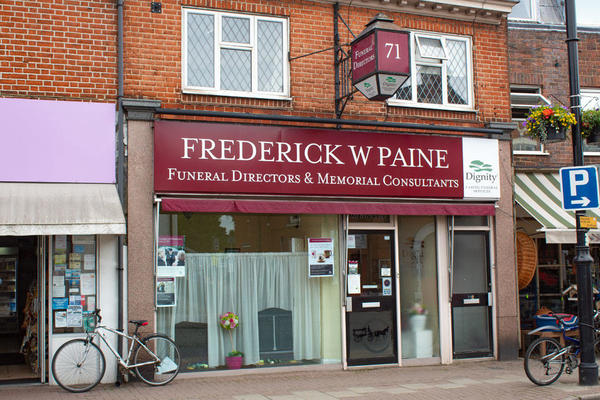 Frederick W Paine Funeral Directors in East Molesey