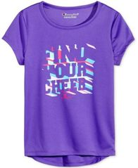 Image of Champion Find Your Cheer Graphic T-Shirt, Toddler & Little Girls (2T-6X)