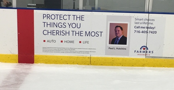 Sponsorship of Hyde Park Hockey Rink in Niagara Falls