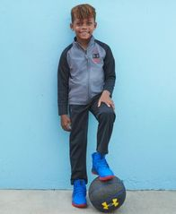Image of Under Armour Little Boys 2-Pc. On The Mark Track Jacket & Pants Set