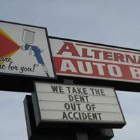 Alternative Auto Body<br>We are a locally owned and operated, serving Bremerton for over 30 years.
