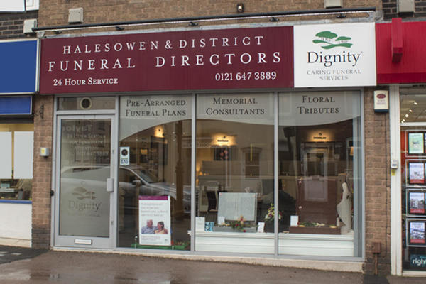 Halesowen & District Funeral Directors in Halesowen