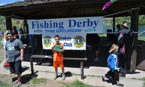 2017 Tri Lakes Fishing Derby sponsored by the Lions Club.