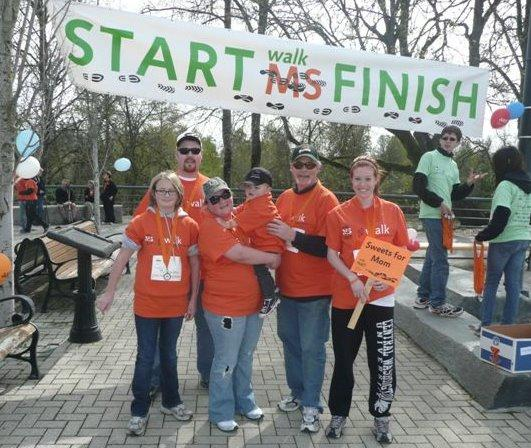Farmers agents at National MS Society walk finish line